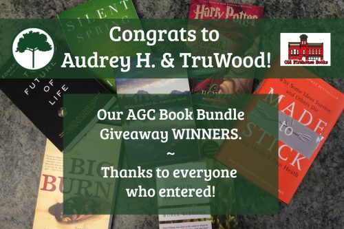 AGC Book Bundle Giveaway Winners